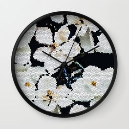 Magnolia Midnight Wall Clock
