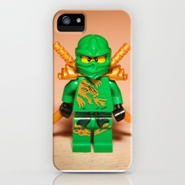 Ninjago Lloyd iPhone Case