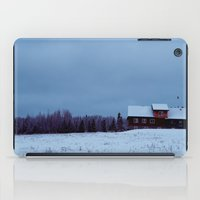cabin iPad Cases featuring Cabin Fever by supertramp