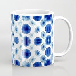 Shibori Circles Coffee Mug