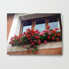 Avignon Flowers Metal Print