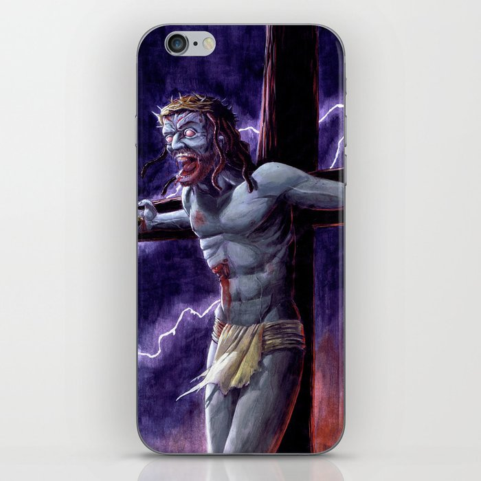 Zombie Messiah iPhone Skin
