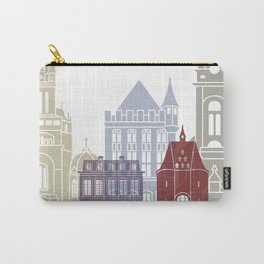 Aachen skyline poster Carry-All Pouch
