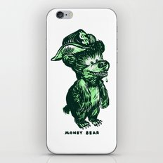 The Money Bear iPhone & iPod Skin