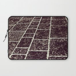 texture of the old stone paving Laptop Sleeve