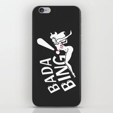 Neon Bada Bing! iPhone & iPod Skin
