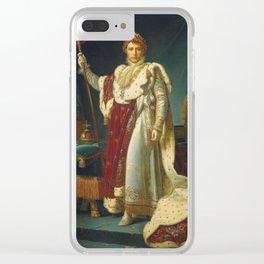 François Gerard - Napoleon Bonaparte Clear iPhone Case
