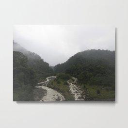 Rainforest Stream Metal Print