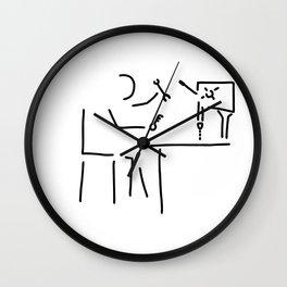 locksmith turner toolmaker Wall Clock