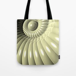 Shell of Repetition Tote Bag