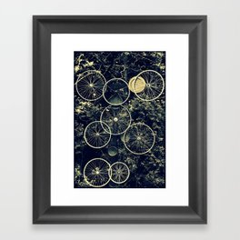 Tire - less Framed Art Print