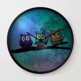 owl-44 Wall Clock