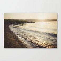 Shore Color Canvas Print