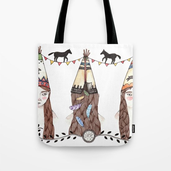 Tipi Party Tote Bag