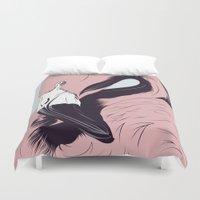 flamingo Duvet Covers featuring Flamingo by CranioDsgn