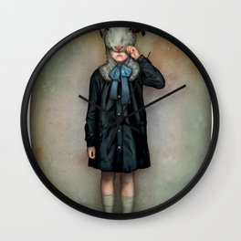 Scapegoat Wall Clock