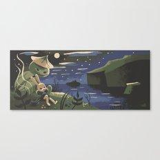 Takumi And Susumu Canvas Print