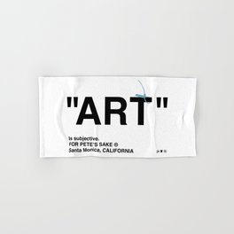"""ART"" Hand & Bath Towel"