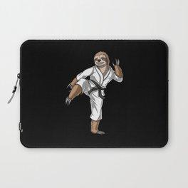 Sloth Karate Fighter Laptop Sleeve