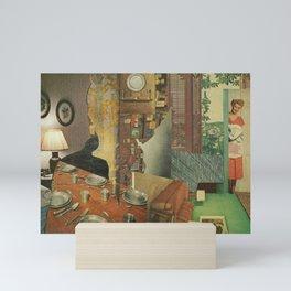 Haunted House Mini Art Print