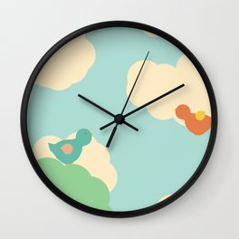 Birds in the Sky Wall Clock