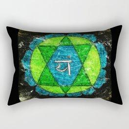 Anahata, Anahata-puri or padma-sundara Rectangular Pillow
