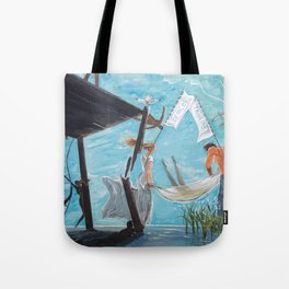 Peace and thinking Tote Bag