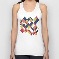 matisse Tank Tops featuring Map Matisse by Project M
