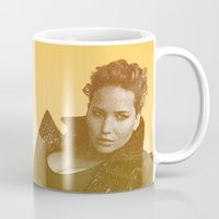 law Mugs featuring J. LAW. by Hands in the Sky