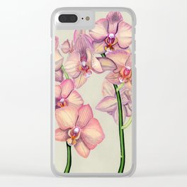 Pink Ladies Clear iPhone Case