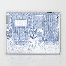 Blue Inhabited Plain Laptop & iPad Skin