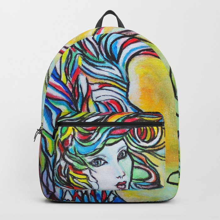 Threads  #society6 #decor #buyart Backpack