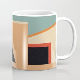 Summer Urban Landscape Coffee Mug