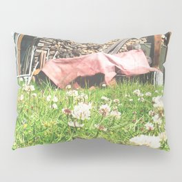 Country Wood Shed Pillow Sham