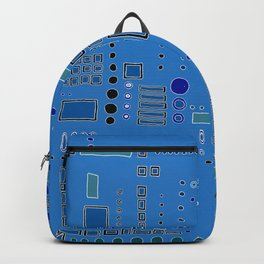 All Bars, Circles, and Dots Backpack