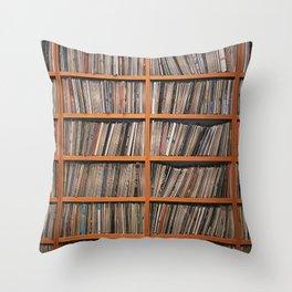 Bookshelf Throw Pillow