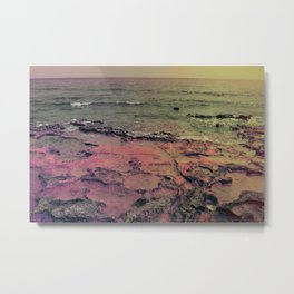 sea rocks 0248 #society6 #sea Metal Print