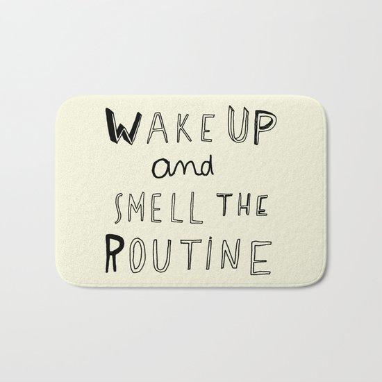 WAKE UP Bath Mat