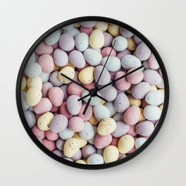 eggs color Wall Clock