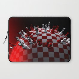 chess fantasy red Laptop Sleeve