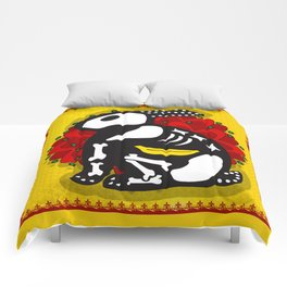 NOT SO DAY OF THE DEAD Comforters