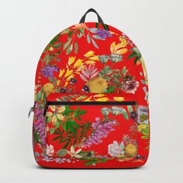 Gypsy Stoner on Red Backpack