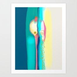 Whispering Art Print