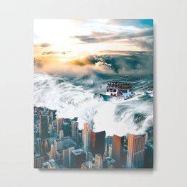Rising Seas Metal Print