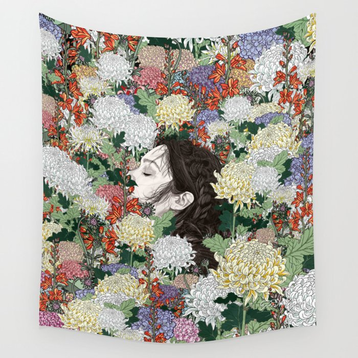 Lush Wall Tapestry