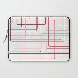 Red Cube Pattern Laptop Sleeve