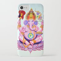 ganesh iPhone & iPod Cases featuring Ganesh by Jared Bretholtz