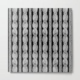 Cable Row B Metal Print