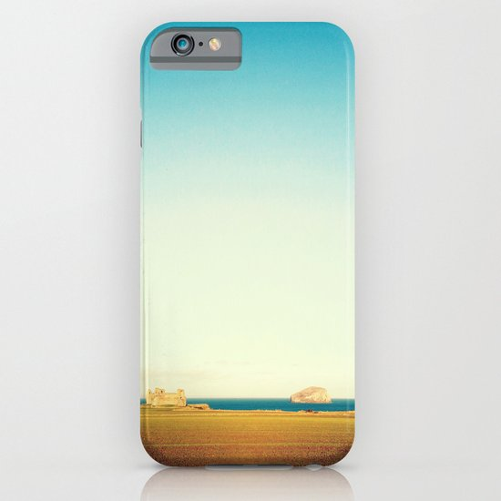 Tantallon Castle and Bass Rock iPhone & iPod Case
