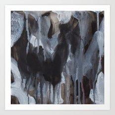 Abstract Black Art Print